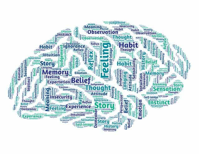 illustration of mindfulness and brain